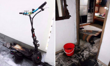 4 injured after e-scooter catches fire in Yishun flat