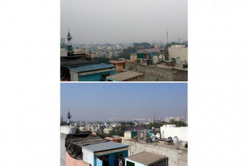 India's capital breathes toxic air as residents flout firecracker curbs