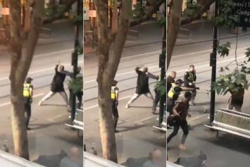 Australian police say several people stabbed in Melbourne; man arrested