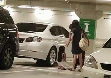 Police, MSF probing alleged abuse of young girl forced to kneel while getting slapped in Ikea carpark