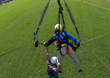 US man cheats death after Swiss pilot forgets to attach him to hang-glider