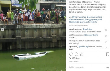 Minivan plunges into Indonesian river as driver daydreams