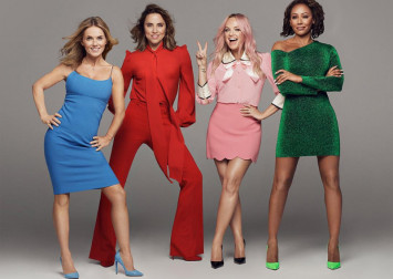 Excited Spice Girls say reunion tour will feel strange without 'Posh'