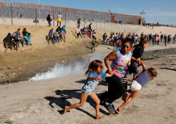 'There were children,' says migrant mother tear-gassed at US border