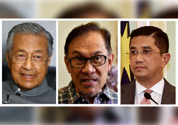 Mahathir says he will pass prime ministership to Anwar, not Azmin