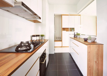 Galley kitchen ideas for HDB homeowners