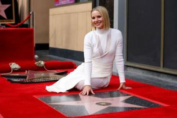 Frozen actress Kristen Bell gets Hollywood star