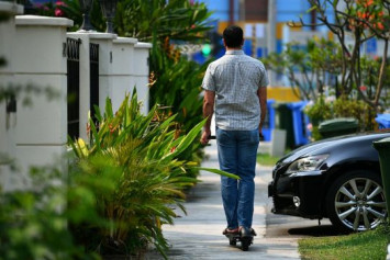 E-scooters to be banned from Singapore footpaths from Nov 5