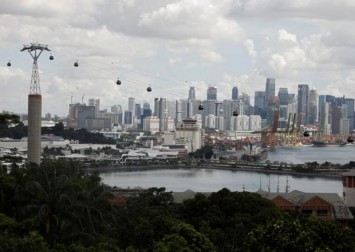 Singapore upgrades third-quarter GDP, sees economy returning to growth next year