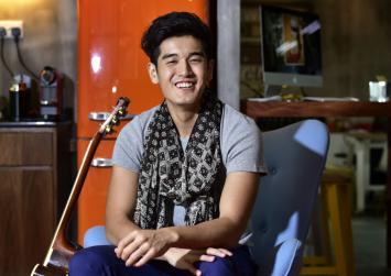 Nathan Hartono had hesitated to join Sing! China over the fear of failure