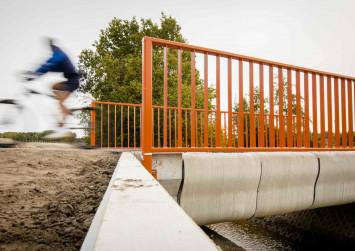 Dutch open 'world's first 3D-printed bridge'