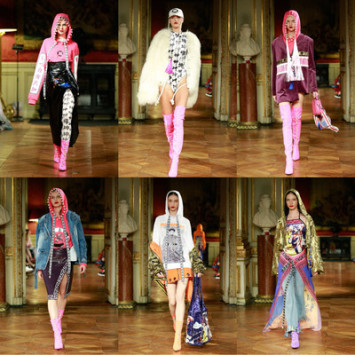 First a week of fashion: the traditional Chinese medicine brand GuangYuYuan on the catwalk