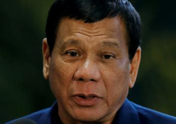 Philippine survey shows big support for Duterte's drugs war