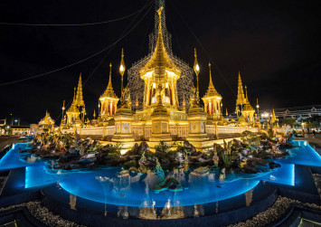 Fit for a king: Thailand's royal cremation