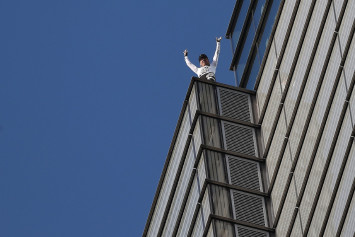 'French Spiderman' arrested after tower stunt snarls London's financial hub