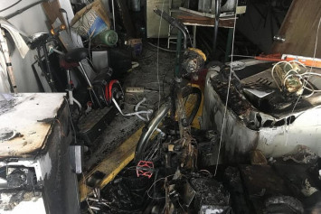 Baby taken to hospital after fire involving ebike at Geylang