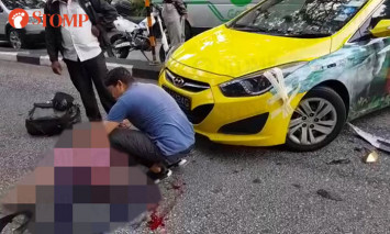 Motorcyclist dies after getting hit by taxi at Eng Neo Ave, cabby arrested