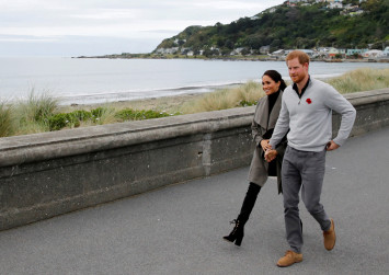 Tea and sympathy as royals talk mental health in New Zealand