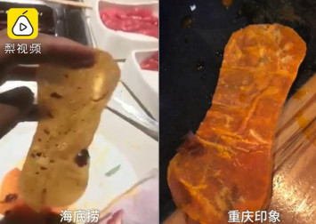 Woman demands 1 million yuan compensation after allegedly finding sanitary pad in Haidilao hotpot