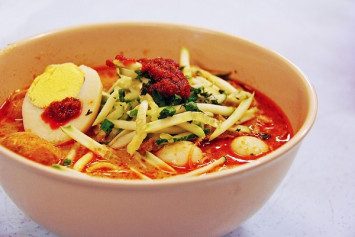 Laksa poisoning in Malaysia: Noodles found to contain salmonella bacteria