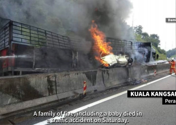 Malaysia's transport minister plans to impose life bans against drivers in fatal accidents