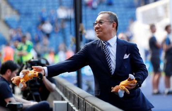 'He made us champions': Leicester pays tribute to Thai owner killed in helicopter crash