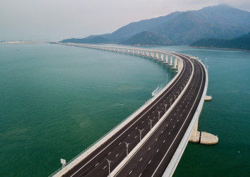 China launches world's longest sea bridge - Hong Kong-mainland mega bridge