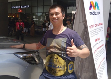 'Singapore Superstar Celebrity' Kurt Tay is back for the Subaru Car Challenge, baby