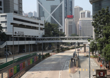 Raging protests turn Hong Kong from world shopping hub into 'ghost town'