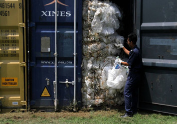 Over 200 containers with illegal waste still stuck at Malaysian ports