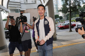 Hong Kong actor Gregory Wong may be stopped from attending Golden Horse Film Festival over protest charge