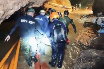 First Thai cave rescue movie promises thrills at Busan premiere