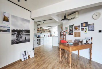 House tour: An eclectic and artsy four-room HDB flat in Bedok