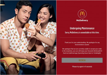 McDonald's jammies all sold out, Singaporeans not lovin' it