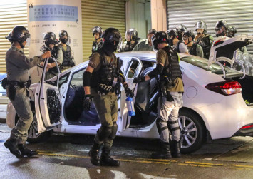 Home-made bomb aimed to kill or maim Hong Kong police officers, force says