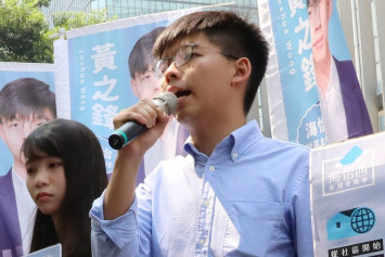Election ban on Joshua Wong may face challenge in court
