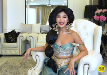 She's a 'royal princess' in Singapore, but don't call her a spoilt brat