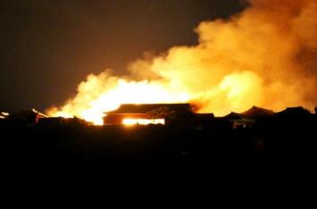 Fire engulfs Japan's 600-year-old Shuri Castle