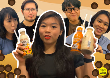 We tried convenience store bubble tea and it was a waste of money
