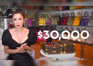 Jamie Chua cried for 4 days after losing her $30,000 Cartier earring