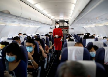 Coronavirus exposure risk on airplanes very low: US defence study