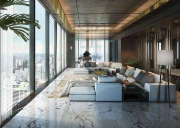 Dysons sell 'bungalow in the sky' for $62m at a loss
