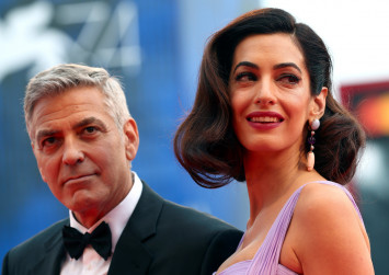 George Clooney shares why he and Amal gave twins normal names, describes babies' personalities
