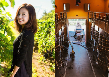 Vicki Zhao shows off her million-dollar French vineyard