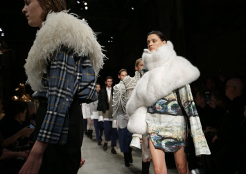 Burberry stops using fur, burning unsold goods