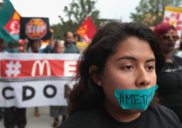 US McDonald's staff protest over sexual harassment