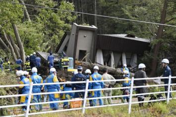 At least 19 missing, 120 injured after powerful quake hits Hokkaido, triggering landslides