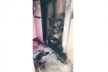 Fire at Punggol flat sparked by PMD left charging in the kitchen: SCDF