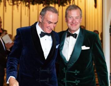 British royal family gets first same-sex wedding