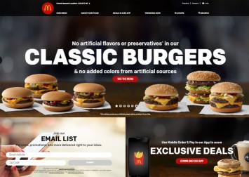 US McDonald's says classic burgers no longer have artificial ingredients